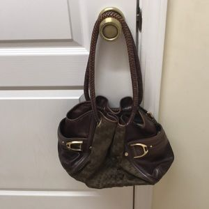 COPY - Cole haan Guinevere brown leather shoulder…